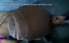 Indian bhabhi loves to be groped