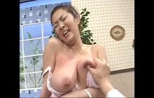 Perfect big Asian tits for groping