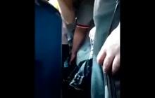 He loves touching girls in public transportation