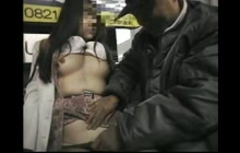 Japanese Helpless Girl Groped On Metro Station