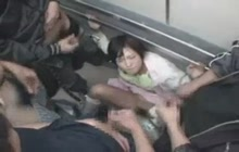 Japanese Groped In Elevator